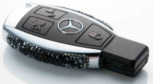 Mercedes Benz Swarovski Car Key