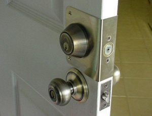 Two lock door