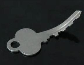 bent key